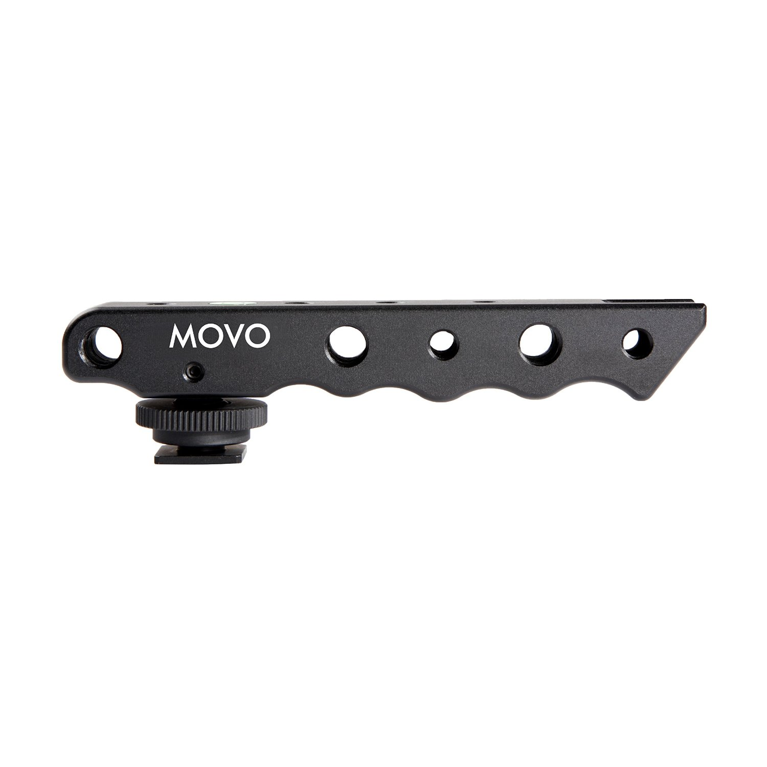 Olympus /& Pentax DSLR Cameras Movo Photo SVH6 Video Stabilizing Top Handle /& Cold Shoe Extender for Canon EOS Nikon