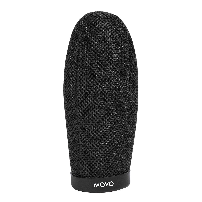 Movo WST120 Ballistic Acoustic Nylon Microphone Windscreen for 10cm Shotgun Mics