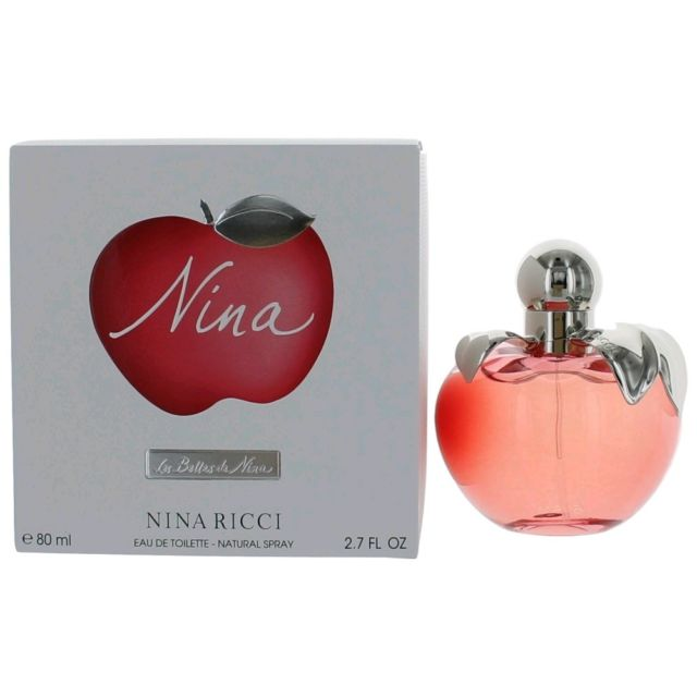 bc7bb675fb Details about Nina by Nina Ricci Perfume for Women 2.7 oz EDT Spray New in  Box