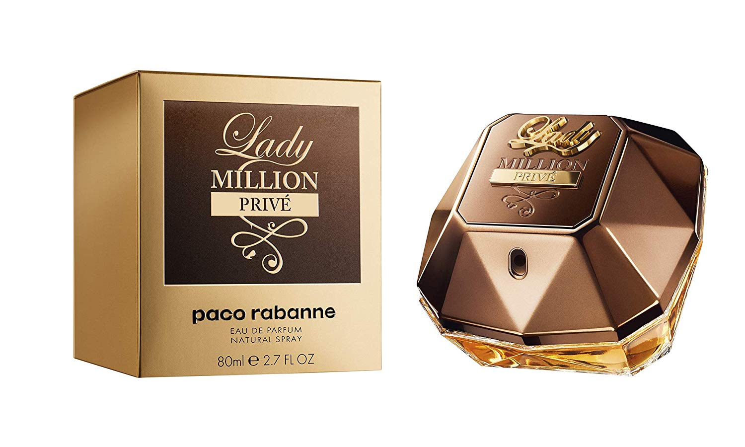 bb7d58d49d Lady Million Prive by Paco Rabanne Perfume for Women 2.7 oz EDP Spray New  in Box